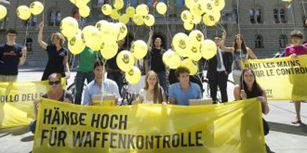 La campagne d'Amnesty Suisse en été 2012. © Valérie Chételat