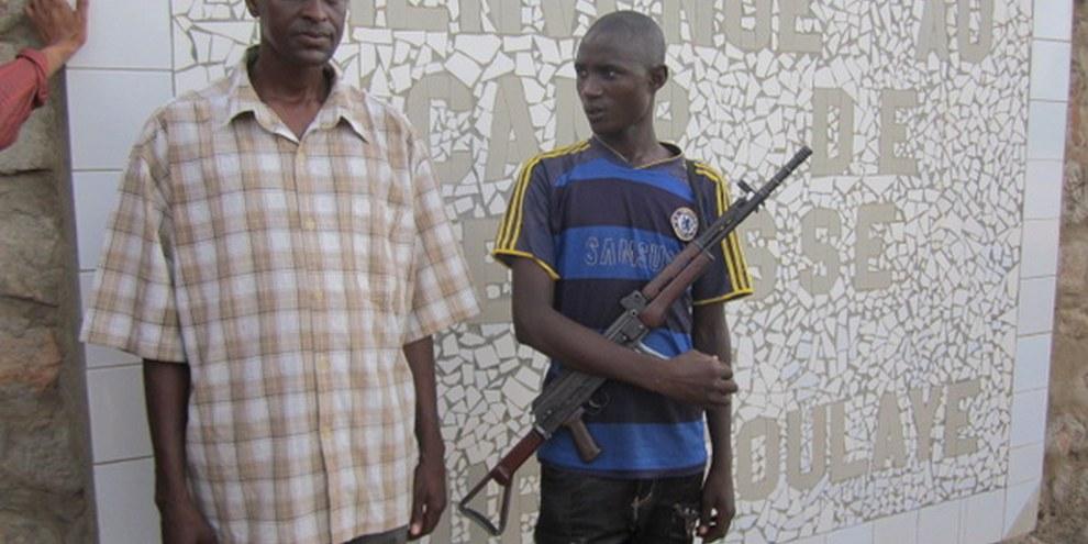 Des enfants aussi jeunes que 13 ans ont été recrutés par les groupes armés. © Amnesty International