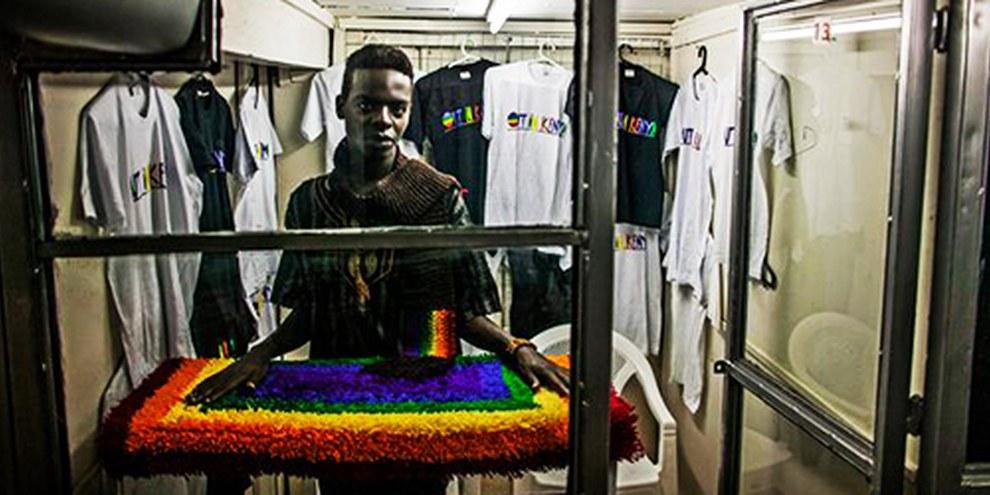 Plusieurs pays d'Afrique durcissent leurs lois à l'encontre des gays et lesbiennes. © Pete Muller