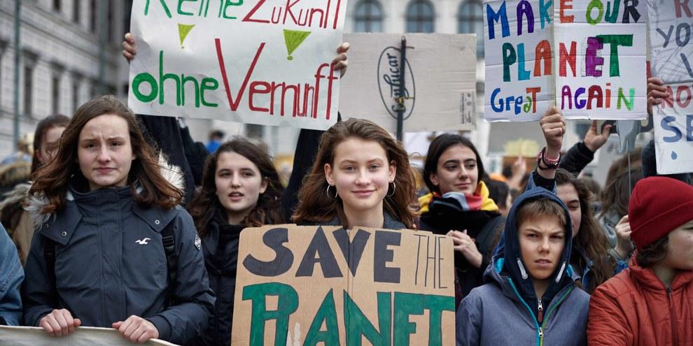 Changement climatique et droits humains sont intrinséquement liés. ©Mitja Kobal