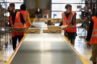 Black Friday: pas au détriment des employé·e·s d'Amazon !