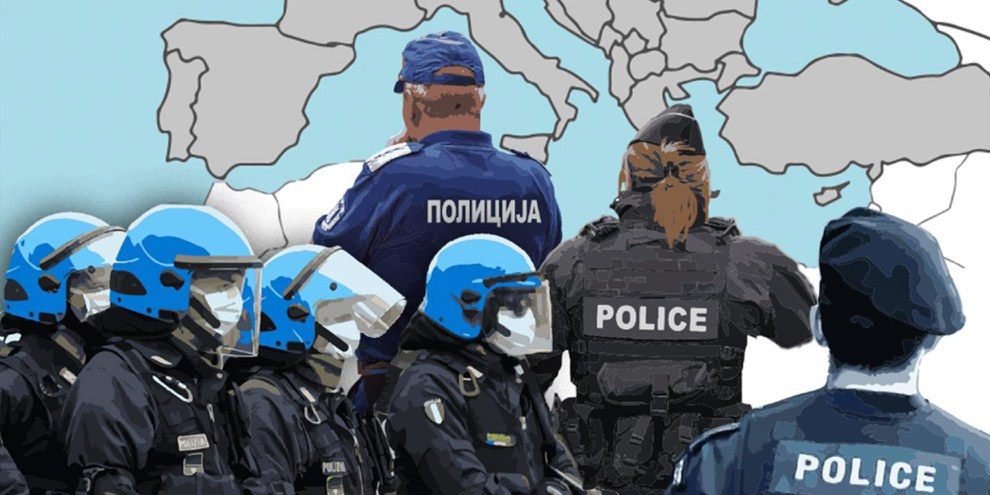 Le rapport d'Amnesty met en évidence une tendance préoccupante aux préjugés racistes au sein des forces de police. © AI