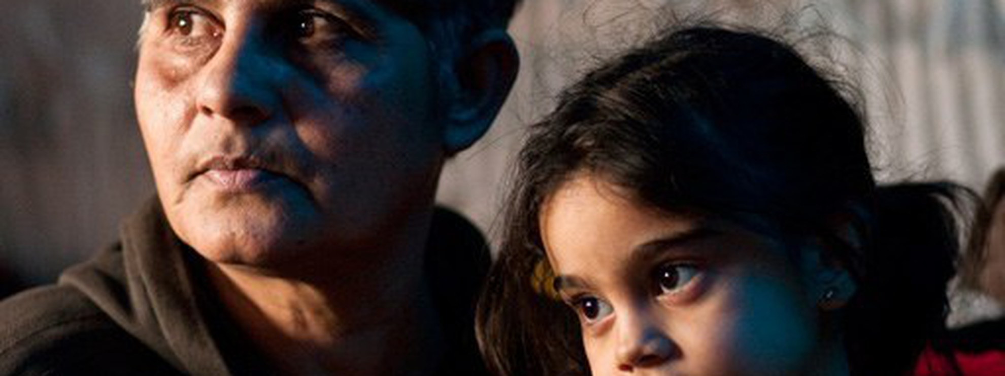 Famille rom à Belgrade. © Amnesty International