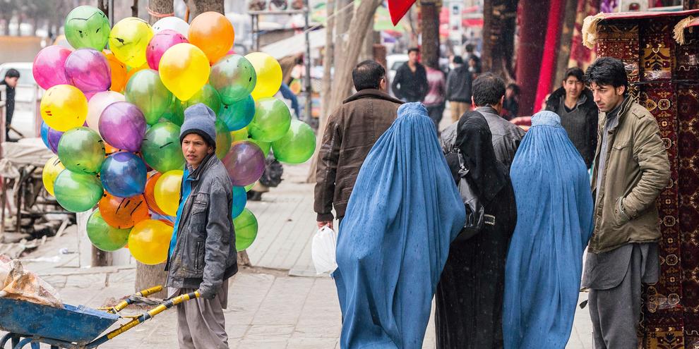 Plusieurs pays et régions européennes ont interdit le port de la burqa. Amnesty International ne plaide pas en faveur d'une telle interdiction.  © Marcus Perkins for Amnesty International