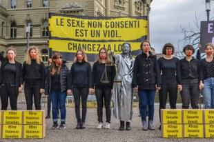 37'000 personnes réclament un nouveau droit pénal en matière sexuelle