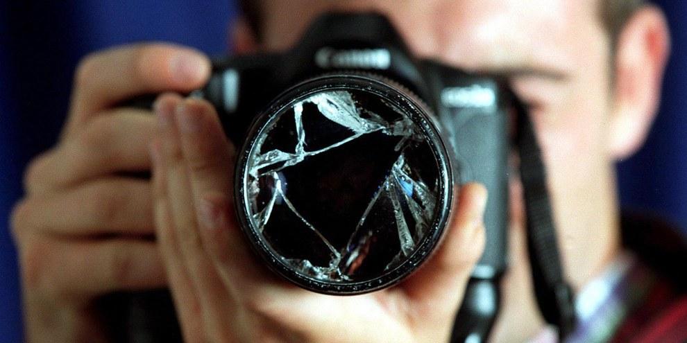 La liberté de presse est systématiquement bafouée dans la majorité des pays de notre monde. © COLOUR BOX