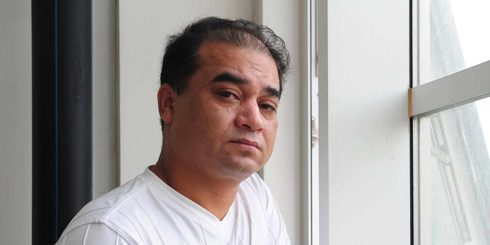 Ilham Tohti a été séléctionné par un jury composé des dix plus grandes organisations pour la défense des droits humains. © FREDERIC J. BROWN/AFP/Getty Images