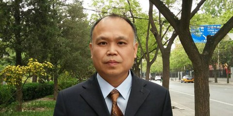 L'avocat chinois Yu Wensheng. © Private