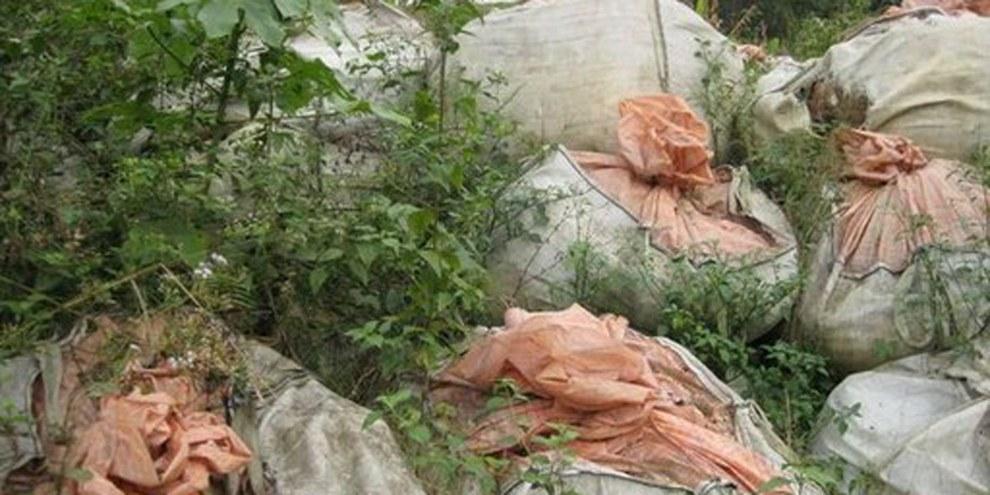 Müllsäcke in der Umgebung von Abidjan. © Amnesty International