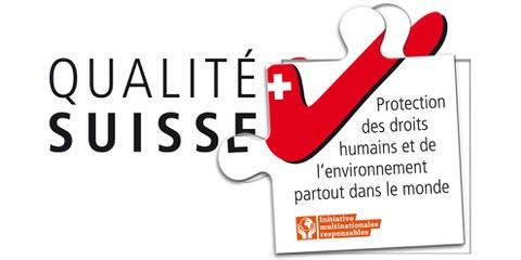 La qualité suisse doit comprendre la protection des droits humains et de l'environnement