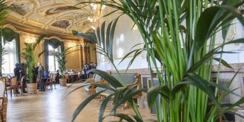 Le lobbying des associations économiques dans la salle des pas perdus l'a emporté. © parlament.ch