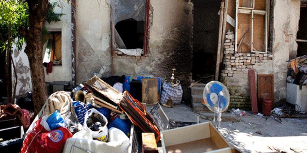 De nombreuses familles roms ont déjà été expulsées durant l'été 2011. © Sanja Knezevic