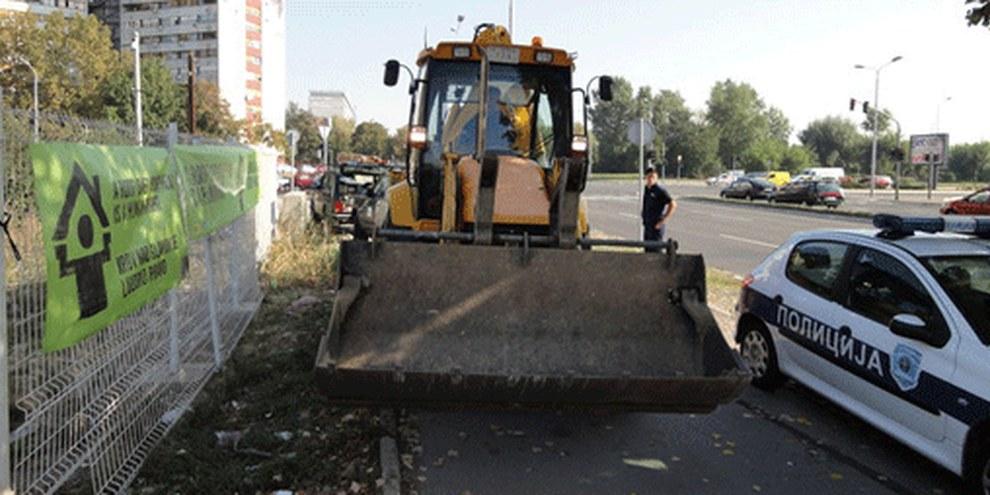 Les autorités serbes continuent d'expulser des familles roms et violent les normes internationales relatives aux droits humains. © Praxis