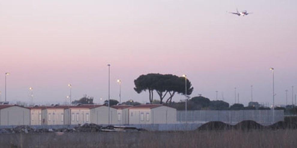 Le site de La Barbuta, près de l'aéroport de Ciampino, à Rome. © AI