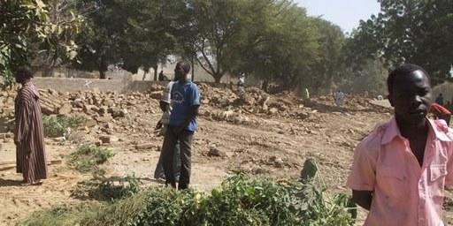 Les autorités tchadiennes ont mis à la rue plus de 670 personnes dans la capitale N'Djamena. © DR