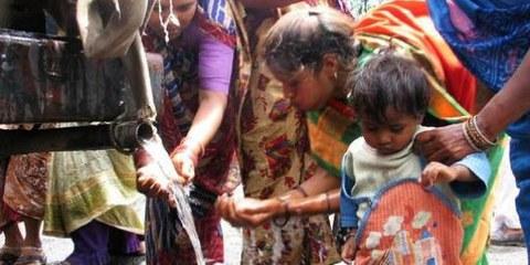 L'accès à l'eau est précaire dans de nombreux pays © Maude Dorr