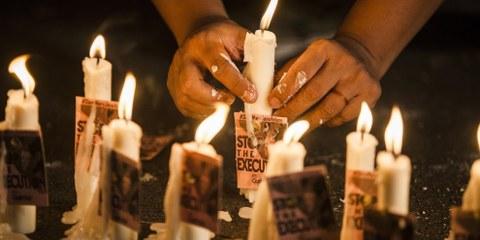 Le 10 octobre 2016, Amnesty International se joindra au mouvement abolitionniste mondial en commémorant la 14e Journée mondiale contre la peine de mort. © Suryo Wibowo