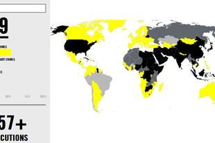 Statistiques sur la peine de mort dans le monde