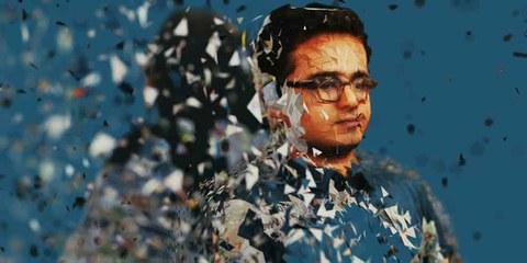 Image utilisée lors de la campagne «#Unfollow me» d'Amnesty International. © Amnesty International