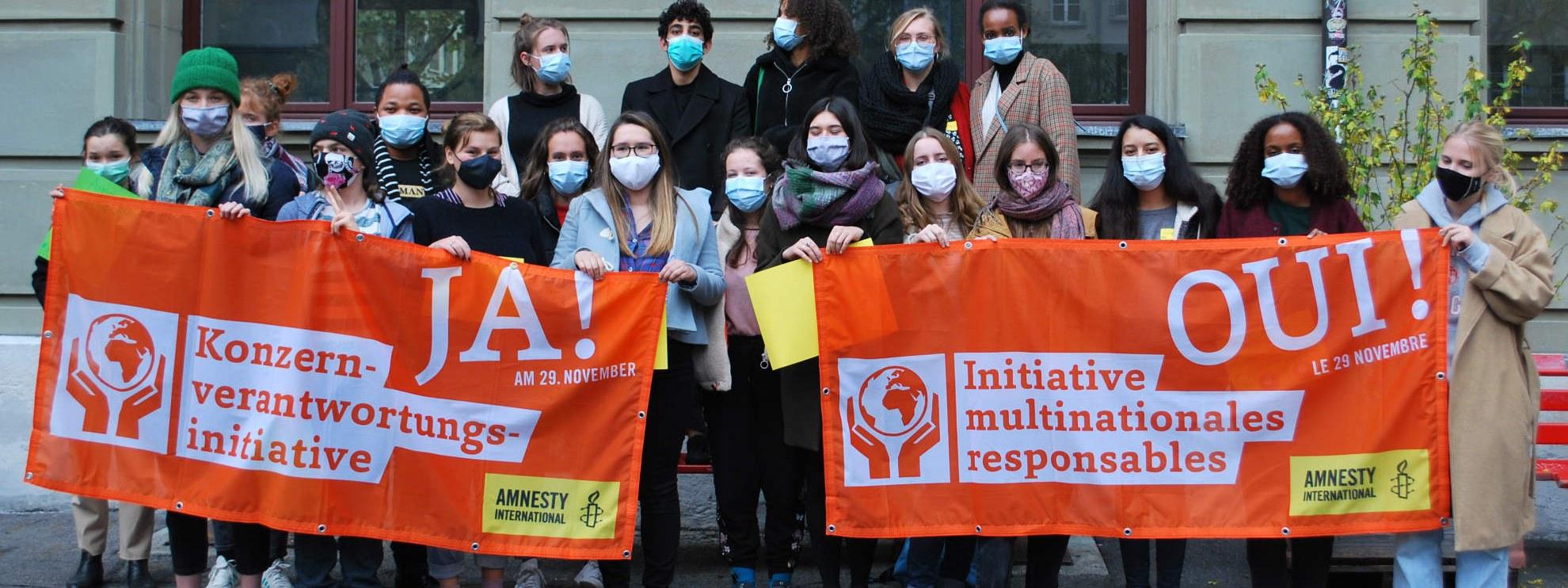 Ensemble pour les droits humains © Amnesty International