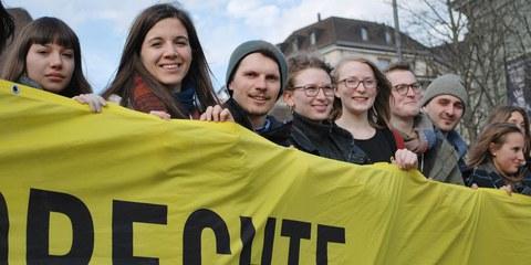 ASSC 2017 à Bâle, © Amnesty International
