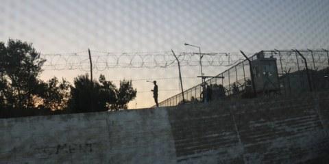 Moria Camp, Lesbos  © Estelle Borel