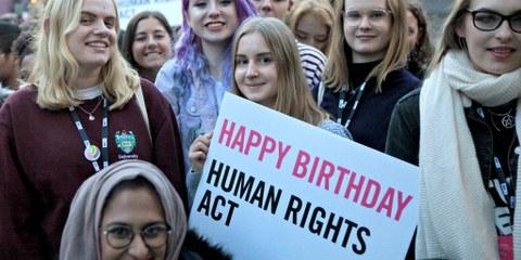 Anniversaire du Human Rights Act © M-A Ventoura / AIUK