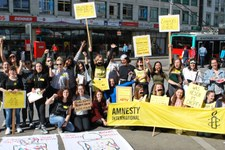 L'AMNESTY YOUTH Action Meeting 2019 a eu lieu à Bienne!