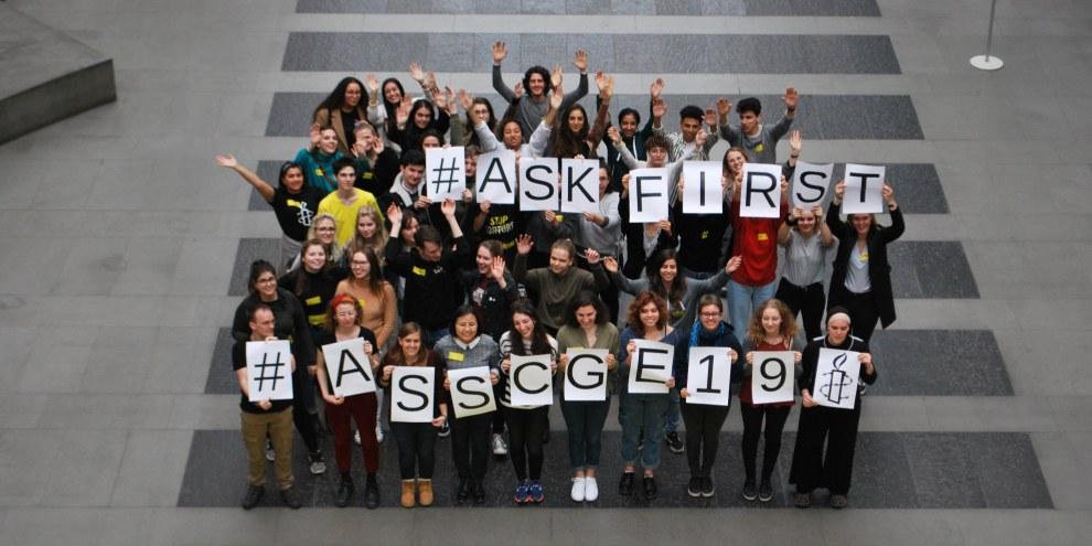 Amnesty Switzerland Students' Conference 2019 © Amnesty International