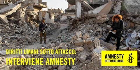 Amnesty Apéro - Diritti umani sotto attacco: interviene Amnesty