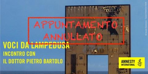 Amnesty Apéro - Voci da Lampedusa