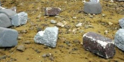 Le dimensioni delle pietre sono indicate nel Codice penale iraniano al fine di infliggere la massima sofferenza alle vittime © Yves Logghe / AP
