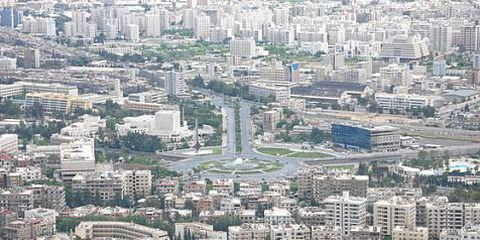 Piazza Umaiyds, quasi vuota. © Demotix