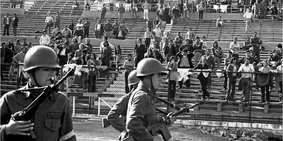 Lo stadio nazionale, vero e proprio campo di prigionia© Marcelo Montecino