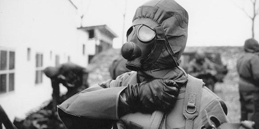 Il divieto delle armi chimiche è un esempio delle regole essenziali il cui obiettivo è salvare vite civili © DR