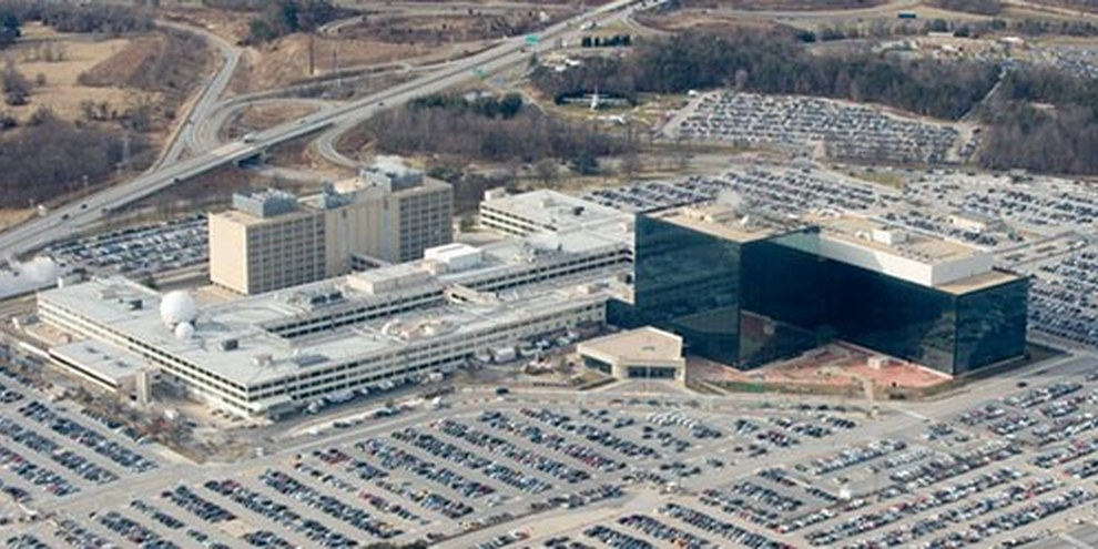 La sede della NSA a Fort Meade, Maryland. | © Saul Loeb/AFP/Getty Images