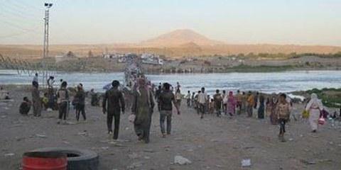 La popolazione civile fugge in cerca di salvezza  © Amnesty International