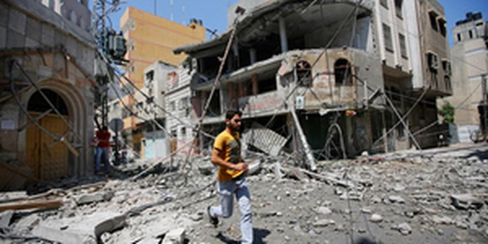 Nuovi attacchi a civili   © EPA/MOHAMMED SABER