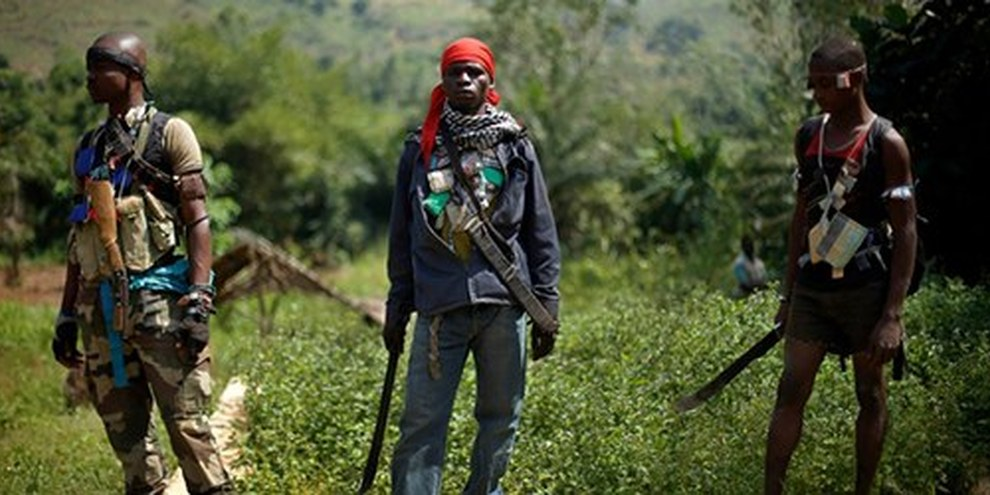 Le truppe anti-balaka | © AP Photo/Jerome Delay