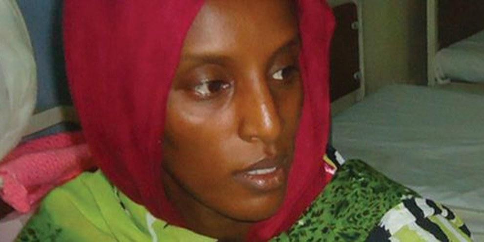 Meriam Ibrahim, una sudanese condannata a morte per apostasia    © AFP/Getty Images