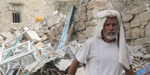 Amnesty ha esaminato 13 raid aerei che hanno causato circa 100 morti civili, tra cui 59 bambini.  © Amnesty International