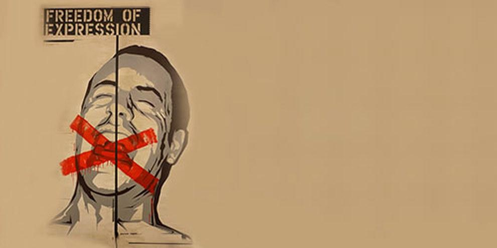 Giornata nera per la libertà d'espressione© Amnesty International