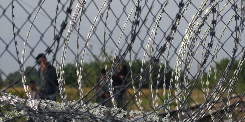 I rifugiati arrivati in Ungheria in modo irregolare rischiano una condanna fino a tre anni di carcere: con queste misure il governo spera di scoraggiare i profughi dall'entrare nel paese. © Tomas Rafa