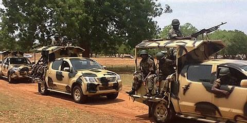 Avvisate dai civili, le autorità nigeriano hanno fatto finta di niente © EPA