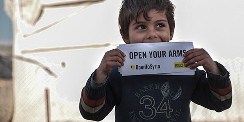 Sono 380.000 le persone bisognose di un ricollocamento, soprattutto minori non accompagnati© Amnesty International