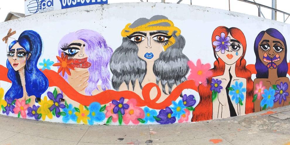 Murales contro le violenze sulle donne © Departamento de Comunicación Social del Municipio de Veracruz, Mexico