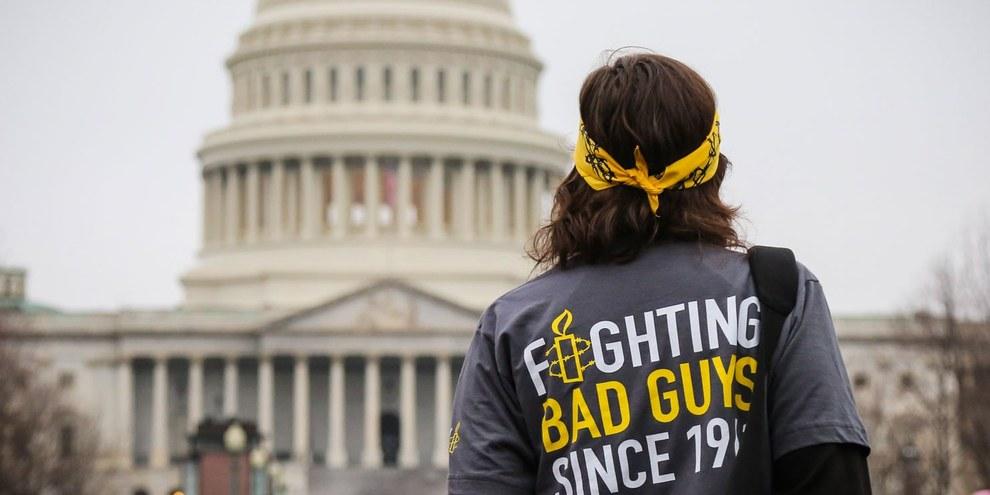 Women's March, Washington 21 gennaio 2017. © Amnesty International USA