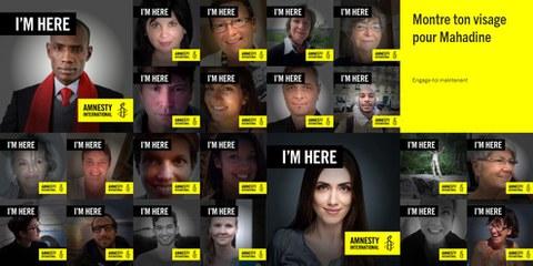 I'M HERE: un selfie per i diritti umani