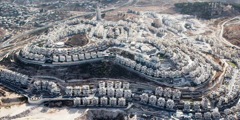 Un insediamento a  Har Homa, vicino a Gerusalemme © YUVAL NADEL/AFP/Getty Images