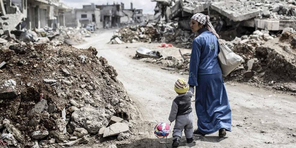 Le vittime del conflitto hanno urgente bisogno di giustizia. © AFP/Getty Images